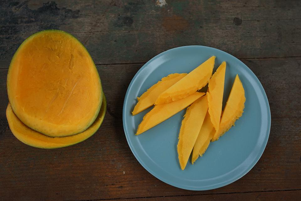 Keitt Mango Flesh