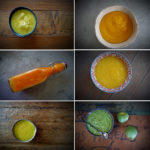 Make a mango sauce to combat potential  kitchen food waste.....