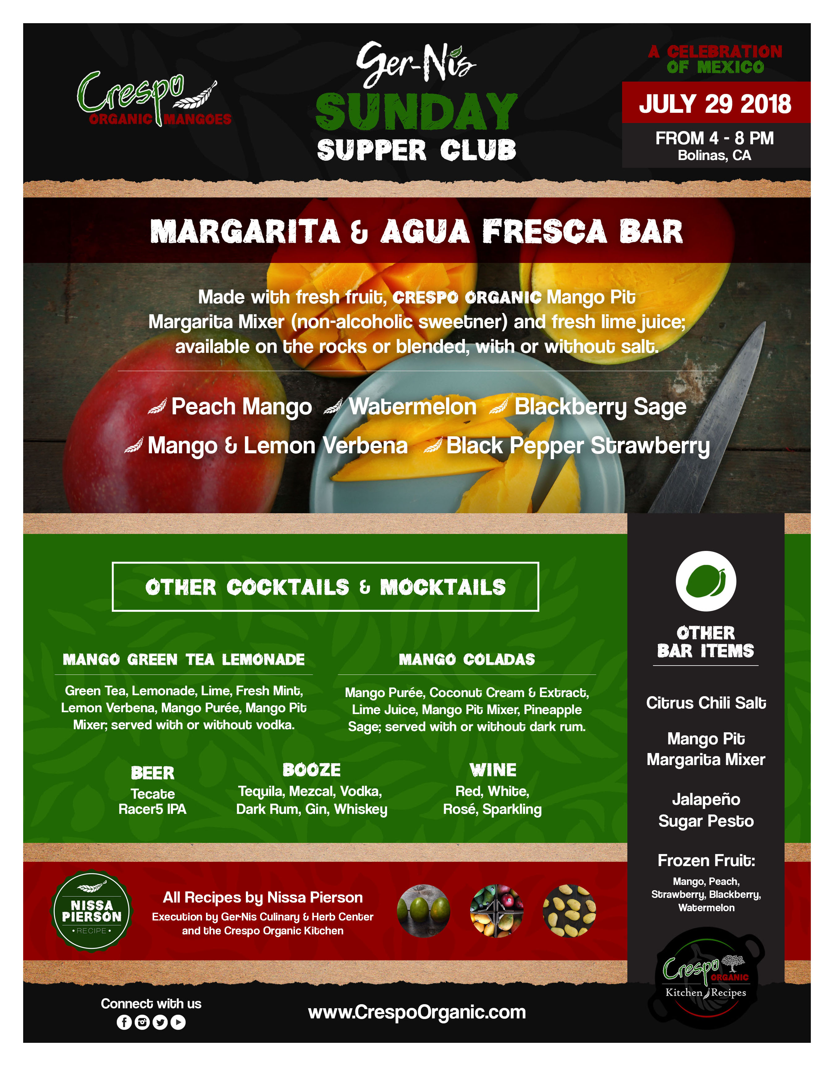 Margarita & Agua Fresca Bar