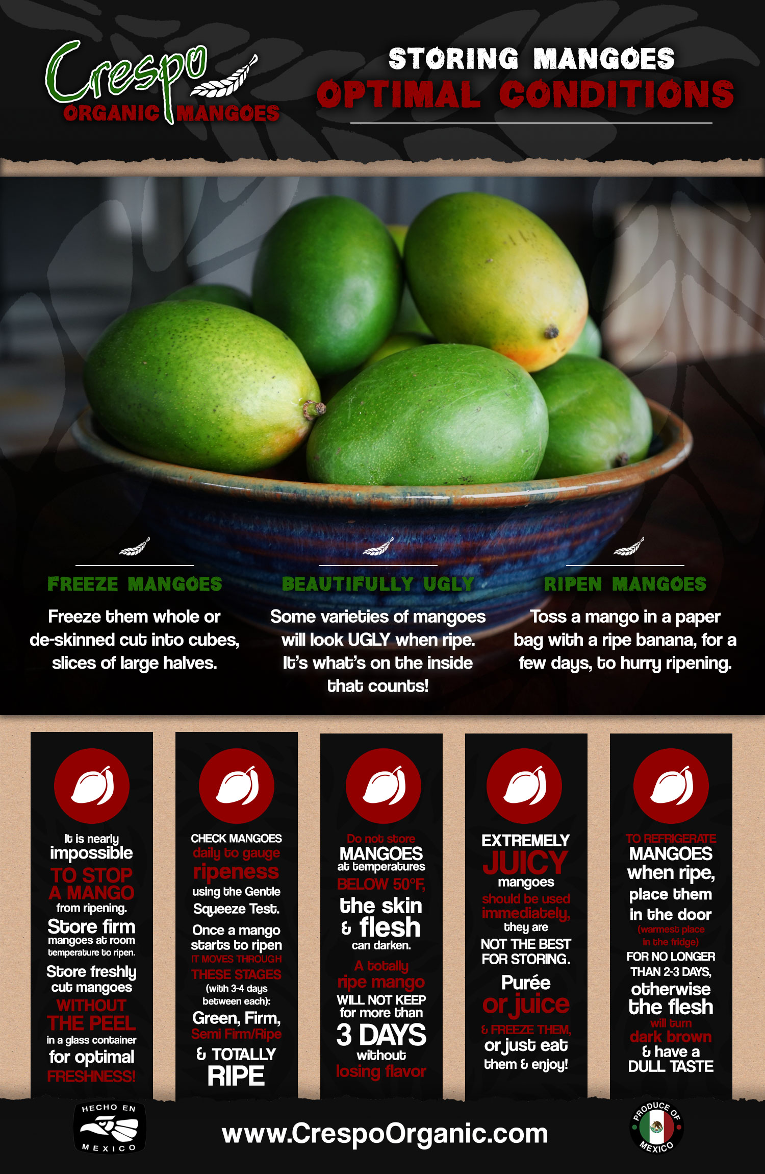 Mango Storage in Your Kitchen