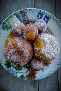 Mango Jelly Donuts